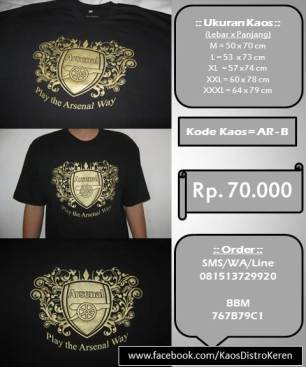 Kaos Distro - Play the Arsenal Way